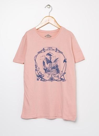 Lee Cooper Tişört Pembe